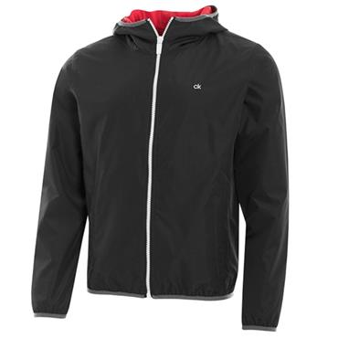 Calvin Klein Golf Gents 365 Wind Hooded Jacket Black