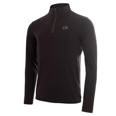 Calvin Klein Gents Newport Premium 1/2 Zip Top Black