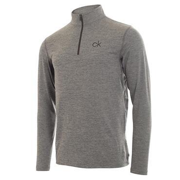 Calvin Klein Golf Gents Newport Premium 1/2 Zip Top Silver
