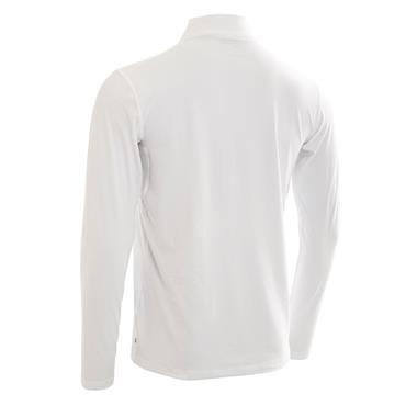 Calvin Klein Gents Newport Premium 1/2 Zip Top White