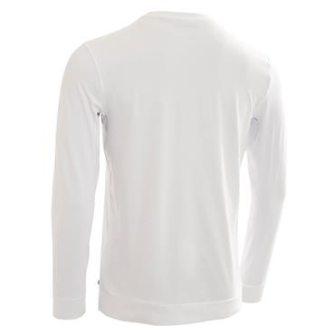 Calvin Klein Golf Gents Newport Premium Long Sleeve Tee White