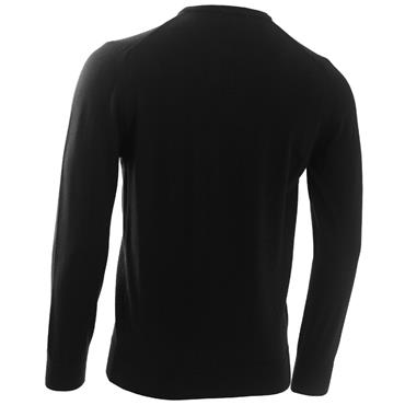 Calvin Klein Golf Gents Round Neck Merino Sweater Black