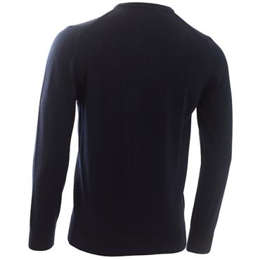 Calvin Klein Golf Gents Round Neck Merino Sweater Navy