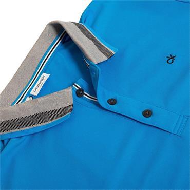 Calvin Klein Golf Gents Spark Polo Shirt Azure