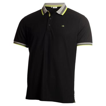 Calvin Klein Golf Gents Spark Polo Black