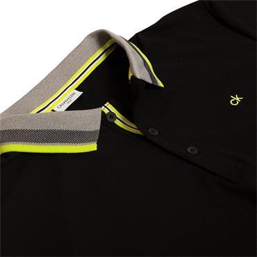 Calvin Klein Golf Gents Spark Polo Shirt Black