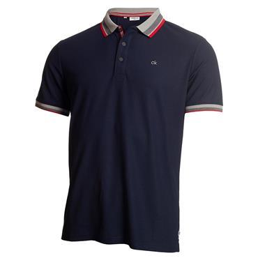 Calvin Klein Golf Gents Spark Polo Shirt Navy