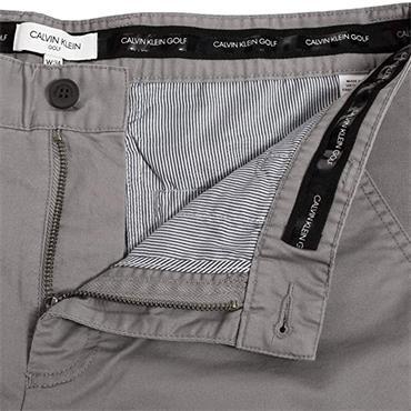 Calvin Klein Golf Gents Radical Chino Shorts Zinc Grey