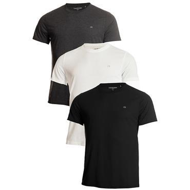 Calvin Klein Golf Gents T-Shirt 3-Pack Charcoal - White - Black