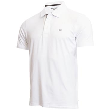 Calvin Klein Golf Gents Newport Polo White
