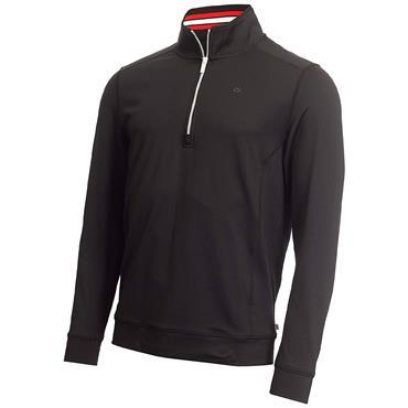 Calvin Klein Golf Gents Orbit ½ Zip Top Black - Red