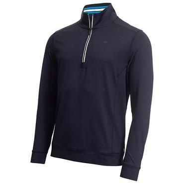 Calvin Klein Golf Gents Orbit ½ Zip Top Navy - Blue