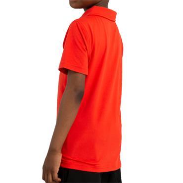 Calvin Klein Golf Kids Newport Polo Fiery Red