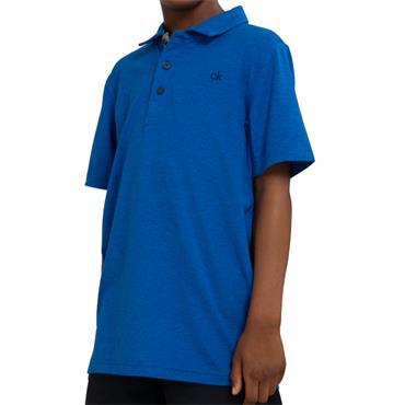 Calvin Klein Golf Kids Newport Polo Nautical Blue - Marl