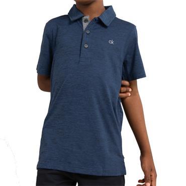Calvin Klein Golf Kids Newport Polo Navy - Marl
