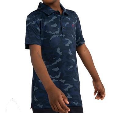 Calvin Klein Golf Kids Camouflage Polo Navy