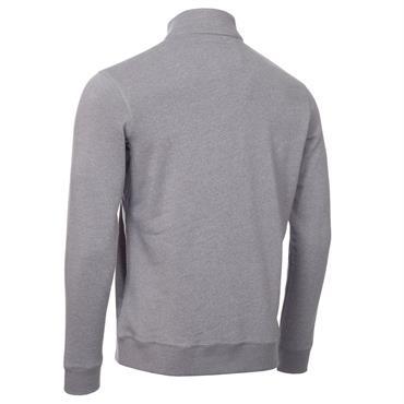 Calvin Klein Golf Gents Columbia ½ Zip Sweater Silver - Marl