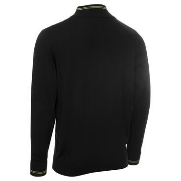 Calvin Klein Golf Gents Monaco Sweater Black - Lime