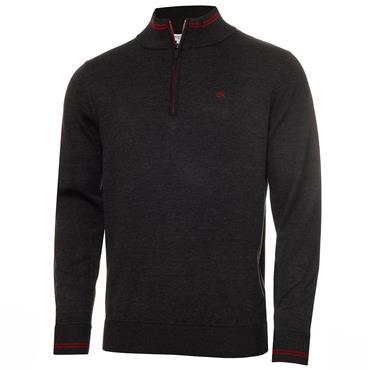 Calvin Klein Golf Gents Monaco Sweater Champagne Red