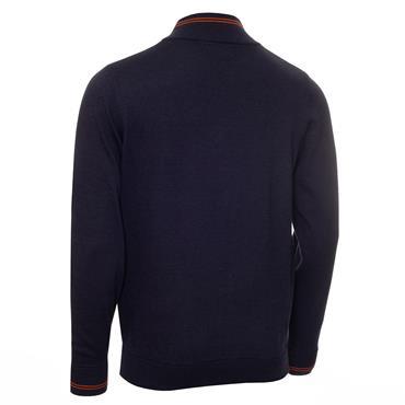 Calvin Klein Golf Gents Monaco Sweater Denim - Orange