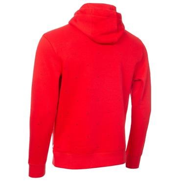 Calvin Klein Golf Gents Planet Monogram Hoodie Power Red