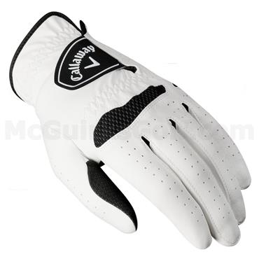 Callaway Weather Spann Gents Golf Glove RH White