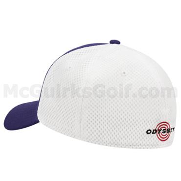 1ca277dbe4771 ... Callaway Gents Mesh Fitted Cap Purple - White