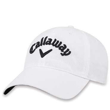 Callaway Gents Stretch Fitted Cap White