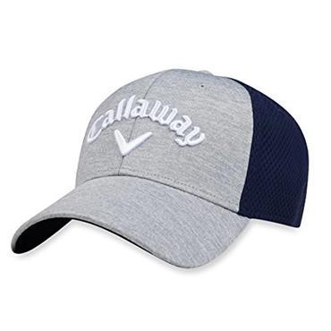 Callaway Mesh Fitted Cap Grey - Navy