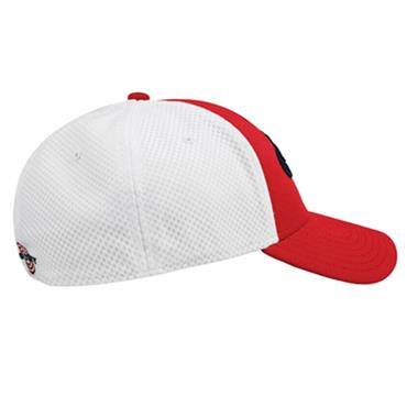 Callaway Mesh Fitted Cap Red - White
