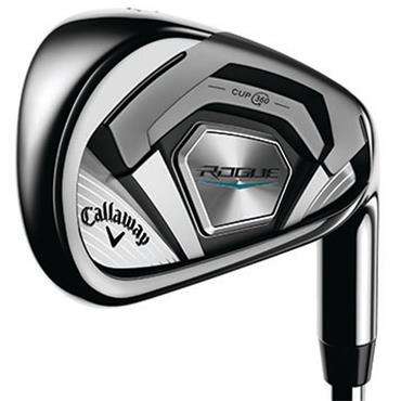 Callaway Rogue [Ex Display Set] 7 Steel Irons 5-SW Gents Right Hand