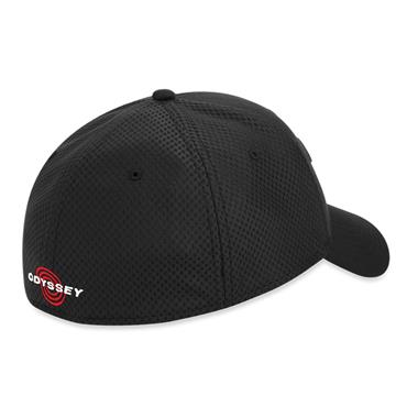 Callaway Mesh Fitted Cap Black - Charcoal