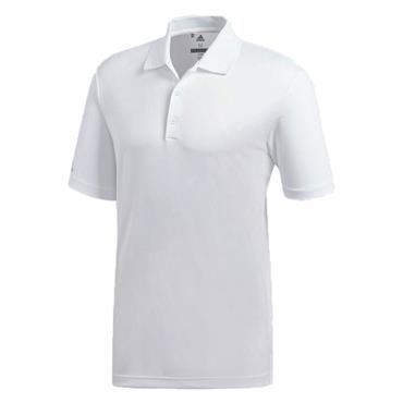 adidas Gents Performance Polo Shirt White