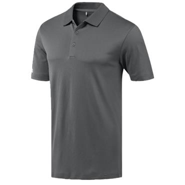 Adidas Gents Performance Polo Shirt Grey