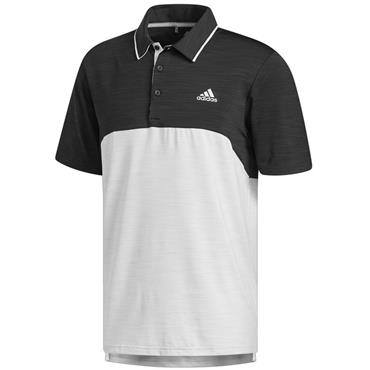 adidas Gents Ultimate 365 Polo Shirt Black Heather