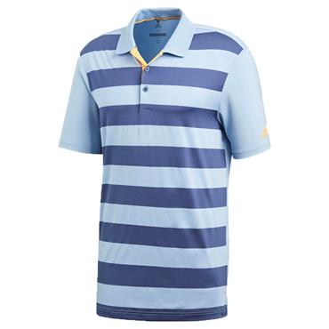 Adidas Gents Ultimate 365 Rugby Polo Shirt Ash Blue