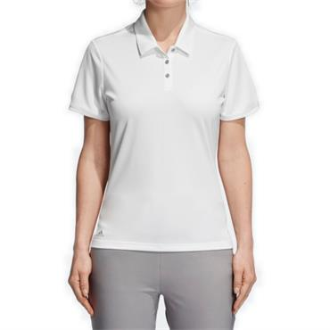 adidas Ladies Tournament Polo Shirt White