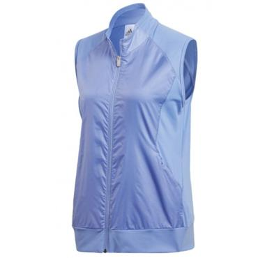 adidas Ladies Tech Wind Vest Chalk - Purple