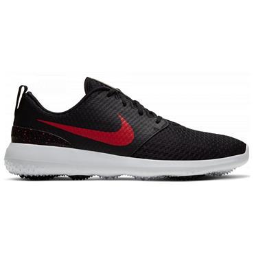 Nike Gents Roshe G Shoes Black - Red 004