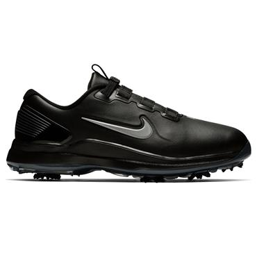 Nike Gents Tiger Woods 71 FastFit Shoes Black - Silver