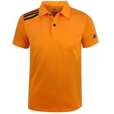 adidas Junior - Boys 3 Stripe Solid Polo Shirt Real Gold