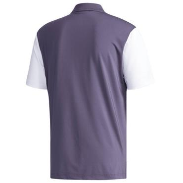 Adidas Gents Ultimate 365 3-Stripes Polo Shirt Trace Purple