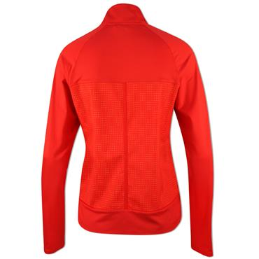 adidas Ladies Full Zip Rangewear Jacket Real Coral