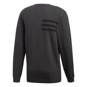 adidas Gents Crewneck Sweater Black - Melange