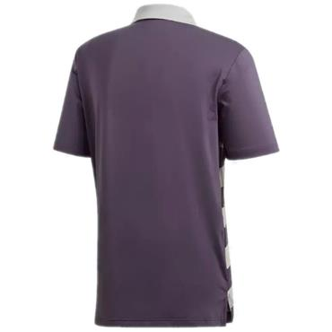 Adidas Gents Ultimate 365 Rugby Polo Shirt Trace Purple