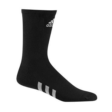 adidas Gents Crew 3 Pack Socks Black