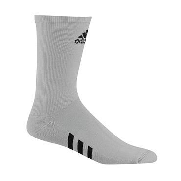 adidas Gents Crew 3 Pack Socks Grey