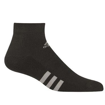 adidas Gents Ankle 3 Pack Socks Black
