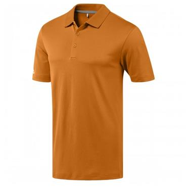 adidas Gents Performance Polo Shirt Bright Orange