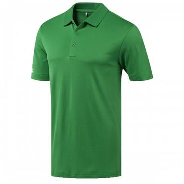 Adidas Gents Performance Polo Shirt Green